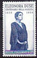 1958 - ELEONORA DUSE - Nuovo - 1946-60: Nuovi