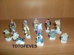 SERIE COMPLETE ATLANTIDE DE 12 FEVES N°127 - Charms
