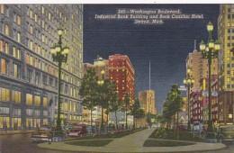 Michigan Detroit Washington Boulevard Industrial Bank Building &