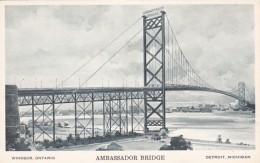 Michigan Detroit The Ambassador Bridge