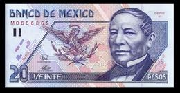 # # # Banknote (Mexiko) Mexico 20 Pesos 1994 UNC # # # - Mexiko