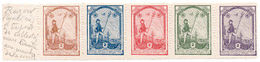 (I.B) Poland Cinderella : Polish Cultural Exhibition Stamps (1911) - Poland