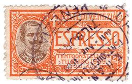 (I.B-CK) Italy (Venice) Cinderella : Tilburg Exhibition Stamp (1909) - Italy