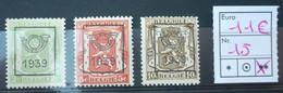 PREO REEKS 15  -  1939  POSTFRIS XX  , Zie Fotos - Préoblitérés