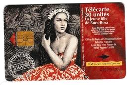 La Jeune Fille De Bora-Bora  - 95.09 - 30 U - Polynésie - Peintre Peinture Art - Französisch-Polynesien