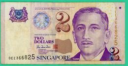 2 Dollars - Singapour - N° 0EE366825 - TB+ - Singapour