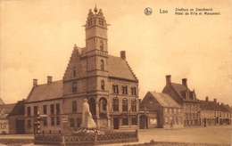 Loo       Stadhuis En Standbeeld  Lo-Reninge      I 1459 - Lo-Reninge