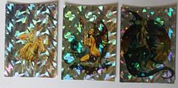 3 Cartes Boris Vallejo Illustrateur Univers Fantastique Femmes Nues Comic Images All-Prism Boris 3 1993 - Other Collections