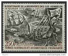 TAAF, PA N° 028** Y Et T, Bicentenaire Des Iles Kerguelen, 28 - Corréo Aéreo