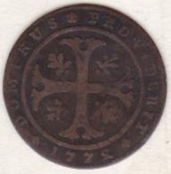 Canton De Berne /  Bern. 1/2 Batzen 1772 . RARE. KM# 91 - Suisse
