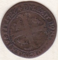 Canton De Obwald / Unterwalden . 3 Kreuzer 1726 . Date Rare. KM# 12 - Suisse