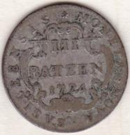 Canton De Bâle / Basel . 3 Batzen 1724 . KM# 140 - Schweiz