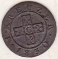 Canton De Soleure / Solothurn. 2 ½ Rappen 1830 .KM# 85 - Schweiz