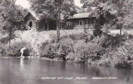Michigan Baldwin Shrine Of The Pines Real Photo
