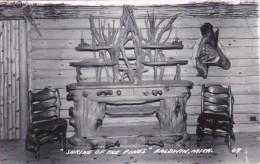 Michigan Baldwin Interior Shrine Of The Pines Real Photo