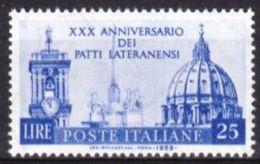 1959 - PATTI LATERANENSI - Nuovi - 1946-60: Nuovi
