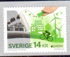 Suède Europa 2016 ** - Neufs
