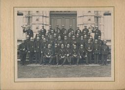 54) Grande Photographie Des Pompiers De VILLERUPT Par Classen (Ca 1925-30) RARE !!! - Other Municipalities