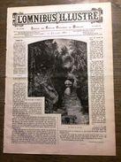 REVUE 1887 17 JUILLET OMNIBUS ILLUSTRE BAIE DU CRIME TOURNAI LES CHONCQ CLOTIERS L INVENTEUR - Other Magazines