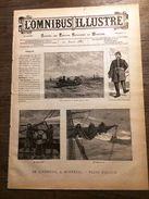 REVUE 1887 21 AOUT OMNIBUS ILLUSTRE DE LIVERPOOL A MONTREAL - Magazines Et Périodiques