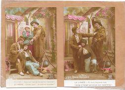 LOT De 5 CPA COLORISEES FANTAISIE - LES DEUX GOSSES - La Limace Zephyrine Et Cie Fanfan....... - TON3 - - Cartes Postales