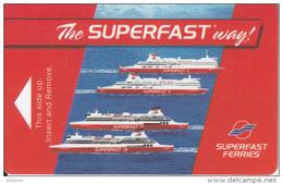 GREECE - Superfast Ferries, Cabin Keycard, Used - Hotelkarten