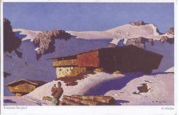 Alfons Walde  - 'Gemälde - Einsamer Berghof - Kitzbühel Tirol   - **19800-75** - Peintures & Tableaux