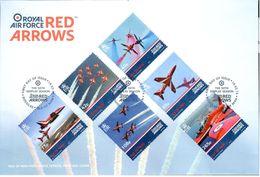 FDC Red Arrows 19/02/14 - Man (Ile De)