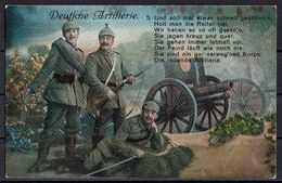 (010..646) 1. Weltkrieg, Deutsche Artillerie - Guerre 1914-18