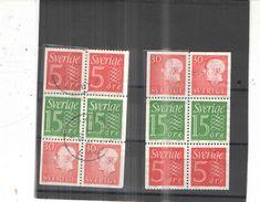 Svezia PO 1961/65 Numerals E King. N.2 Sestine Scott 503+570+575+ See Scans - Suède