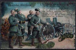 (010..647) 1. Weltkrieg, Deutsche Artillerie - Guerre 1914-18