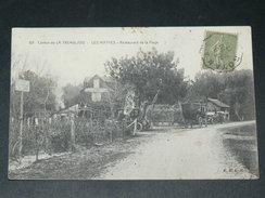LES MATHES LA PALMYRE / ARDT ROYAN   1910   RESTAURANT DE LA PLAGE      CIRC  EDIT - Les Mathes