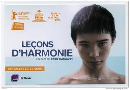 CP Publicitaire Neuve - Film - Leçons D'harmonie - Affiches Sur Carte