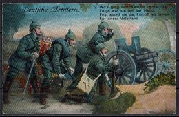 (010..648) 1. Weltkrieg, Deutsche Artillerie - Guerre 1914-18