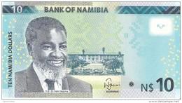 Namibia - Pick 11c - 10 Dollars 2015 - Unc - Namibie
