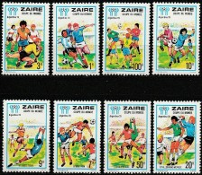 Zaire 1978, FIFA World Cups (MNH, **) - Zaïre