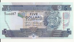ILES SALOMONS 5 DOLLARS ND2004 UNC P 26 - Salomons