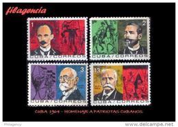 CUBA MINT. 1964-18 HOMENAJE A LOS HÉROES DE LA INDEPENDENCIA - Cuba