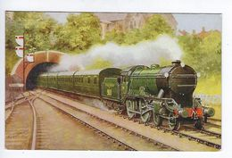 CPA Train Bournemouth Express Salmon Series - Eisenbahnen