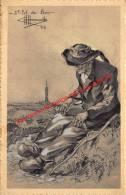 Vieux Mendiant - St Pol De Léon Finistère - Illustrateur Charles Homualk - Homualk