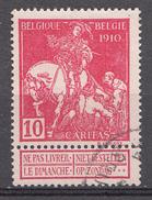 Belqique 1910 Mi.Nr: 88-I Weltausstellung Brüssel  Oblitèré / Used / Gebruikt - Used Stamps