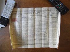 ANCIENNE MAISON GODIN SOCIETE DU FAMILISTERE DE GUISE CERTIFICAT D'INSCRIPTION D'EPARGNE DU 16 FEVRIER 1955 TIMBRE FISCA - Actions & Titres