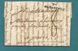 Tarn - Rabastens Pour Paris. LAC De L'An XII. MP 77/RABASTE' ENS. Indice 11 - 1701-1800: Precursors XVIII