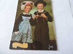 La Bretagne - Enfants De Langonnet  BONNE FÊTE (Morbihan) N°485 - France
