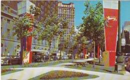 Michigan Detroit Washington Boulevard  and The Statler Hotel