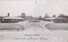 Michigan Muskegon Marymax Motel Real Photo