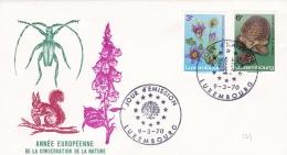 Luxembourg 1970 FDC Annee Europeenne De La Conservation De La Nature  (DD8-29) - Unclassified