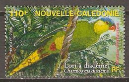 NOUVELLE  CALEDONIE     -    2006 .   Oblitéré .    Perroquet  /  Lori à Diadème. - Nueva Caledonia