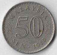 Malaysia 1980 50 Sen [C752/2D] - Malaysia