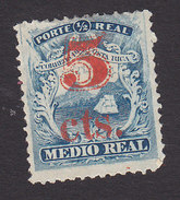 Costa Rica, Scott #12, Mint Hinged, Coat Of Arms Surcharged, Issued 1881 - Costa Rica